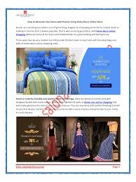 Home Interior Online Shopping Online Home Furnishing Shopping Look With Ease Through Online