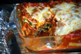 Lasagna Recipe Cottage Cheese by Beef Spinach And Mushroom Lasagna Baking Bites