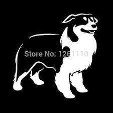 petz 5 australian shepherd australian shepherd silhouette decal vinyl dogs pinterest