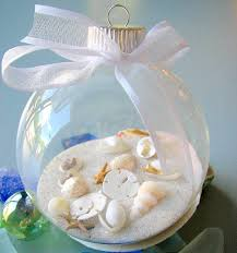 cute idea for vacation ornament with the place and date on