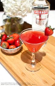 red martini splash redheaded martini drink recipe with 1 5 oz smirnoff strawberry