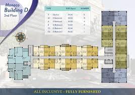 Cote D Azur Floor Plan by Monaco U2013 Seven Seas Cote D U0027azur U2013 Mediterranean Condo Resort Thailand