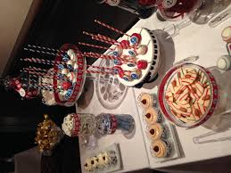 White Chocolate Strawberries And Pretzels Nautical Candy Bar Cakepops Red White Blue Baby Shower