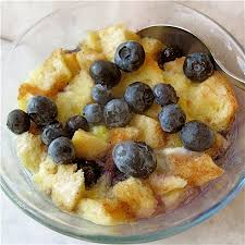 do the u0027wave fast u0026 easy blueberry bread pudding flourish