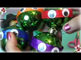 easy diy mutant turtles ornament