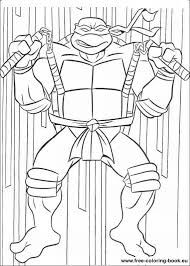 teenage mutant ninja turtles practice coloring pages cartoon