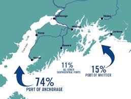 Map Of Anchorage Alaska by Cargo Distribution Port Of Anchorage