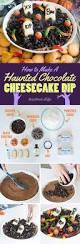 how to make a graveyard themed dessert dip for halloween