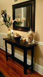 Corner Entry Table Entry Table Decoration Ideas Decor For Console Table Top Best