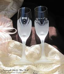 wedding glasses groom etched wedding glasses toasting flutes wedding gift