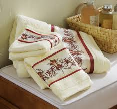 Heart Bathroom Accessories Hearts And Stars Country Bath Towel Set Hearts And Stars Bathroom