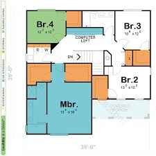 Bedroom Design And Measurements Two Story House U0026 Home Floor Plans Design Basics