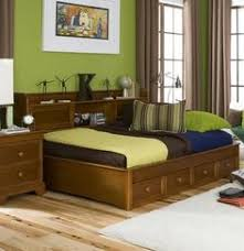 Bookcase Daybed With Drawers And Trundle Twin Atlantic Furniture Captain U0027s Bookcase Bed With 3 Drawer