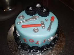 mechanic wedding cake topper car grooms wedding cake auto mechanic 1951mercury skool