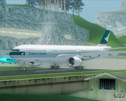 airbus a330 300 cathay pacific for gta san andreas