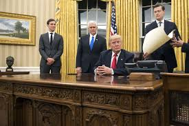 Oval Office Desk Has Already Redecorated The Oval Office