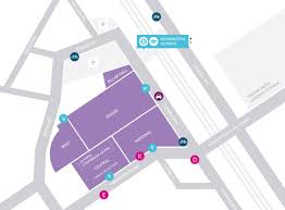Hammersmith Apollo Floor Plan by Book Parking Olympia London