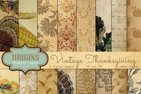 thanksgiving digital paper photos graphics fonts themes