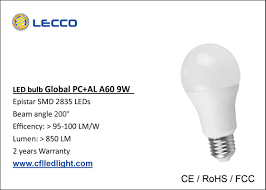 pure white 9w led bulb lights e27 smd 2835 led low voltage light