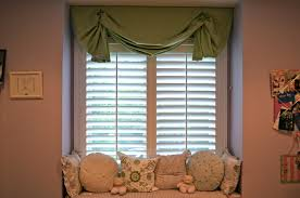 Curtains With Green Lovely Livingroom With Outside Mount Blinds With Curtains With