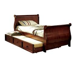 Used King Bed Frame Wood Cottage Sleigh Frame Alone Mattress Boxspring Delightful
