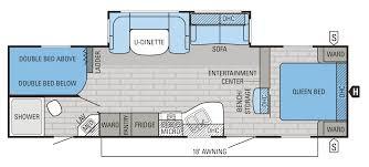 Surveyor Travel Trailer Floor Plans by Jay Flight Travel Trailer Floorplans Inspirations And 2 Bedroom