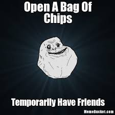 Meme Bag - open a bag of chips create your own meme