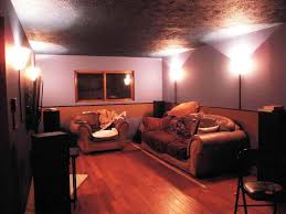 U Home Interior by Unfinished Basement Lighting Unfinished Basement Ideas For A