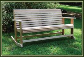 Garden Rocking Bench Cypress Rocking Benches Porch Swings Patio Swings Outdoor Swings