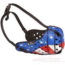 american bulldog x belgian malinois american pride handpainted leather belgian malinois muzzle
