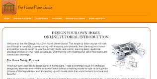 Design Your Own House Online 4 Great Websites For Finding Starter Home Plans