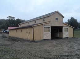 horse barns amish built pa nj md ny j u0026n structures