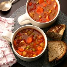hearty vegetable soup recipe taste of home