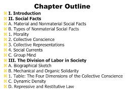 chapter 6 emile durkheim ppt video online download