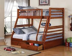 stylish twin over full bunk bed free bunk bed plans twin over full