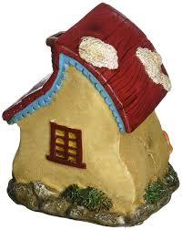amazon com darice yard and garden miniature fairy house home