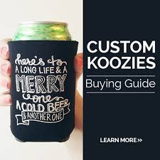 wedding personalized koozies custom koozies wholesale personalized with logo inkhead