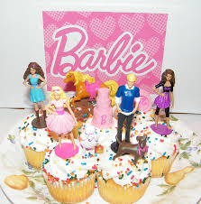 jeep cupcake cake amazon com barbie ken and friends toy doll figure birthday cake