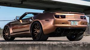 widebody camaro dub magazine brown wide body zl1 camaro convertible