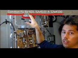 tv blinking red light codes easy common fix for sony tvs kdl red light blinking youtube
