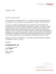 Example Letter Of Resignation Letter Of Recommendation Cover Letter Database