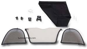 porsche 911 wind deflector suncoast porsche parts accessories wind deflector