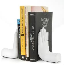 unique bookends twenty trendy bookends that will liven up your shelves living in