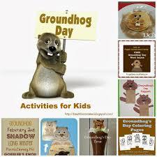 41 groundhog kids activities images