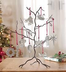 ornament display tree tabletop card display
