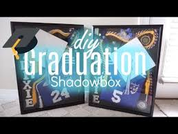 graduation shadow box graduation shadowbox diy