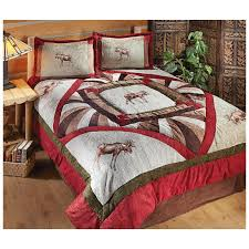 moose bedding bed linen great lodge sets 421012 msexta