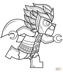 chima lego coloring pages lego chima wolf coloring page free