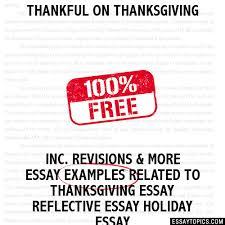 thankful on thanksgiving essay