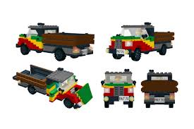 ferrari lego instructions jamaican truck with instructions a lego creation by peteris